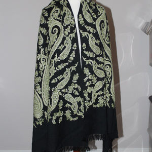 Vintage Embroidered Shawl